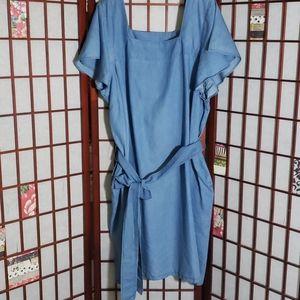 Lane Bryant new chambray tunic dress 20